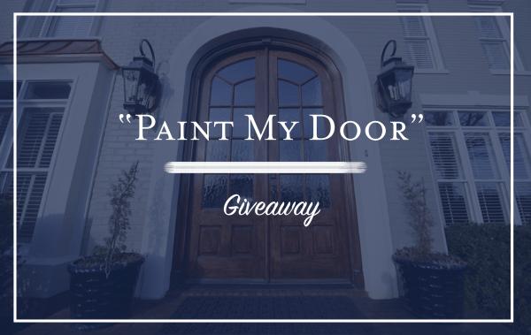 """MCC's """"Paint My Door"""" Giveaway"""