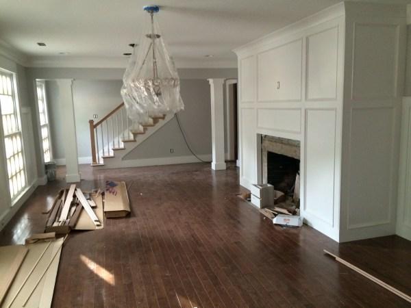 1950's Cherokee Renovation hardwood floors