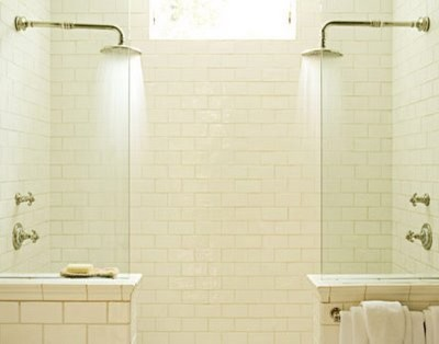 His & Her Shower