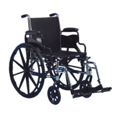 Wheelchair Manual Slipcovered Dining Chair Invacare Tracer Sx5 Mccann S Medical