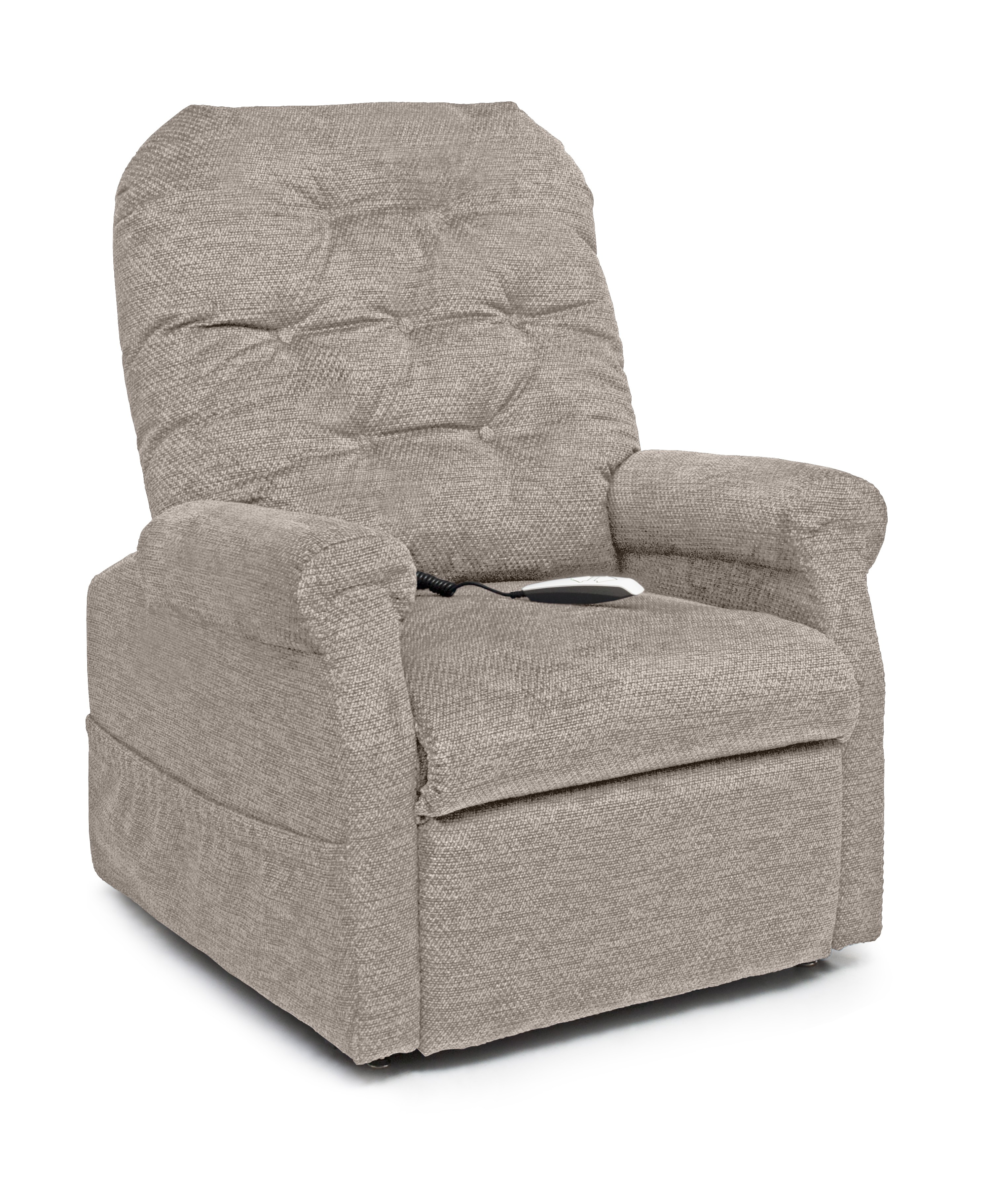 pride lift chairs silver spandex chair covers essential collection button back
