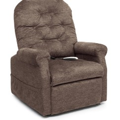 Pride Mobility Lift Chair Gray Lounge Essential Collection Button Back Mccann S Medical