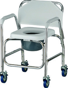 medical shower chairs chair christmas decorations nova and commode with wheels mccann s