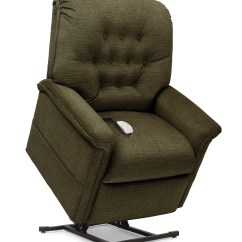High Lift Chair Leather Gaming With Speakers Pride Heritage Collection Button Back Mccann