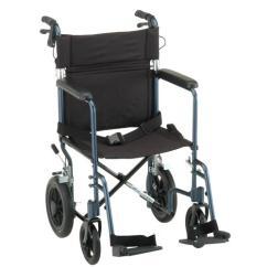 Transport Wheelchair Nova Recliner Chair Covers Target Australia 20 Lightweight With 12 Rear Wheels Mccann S