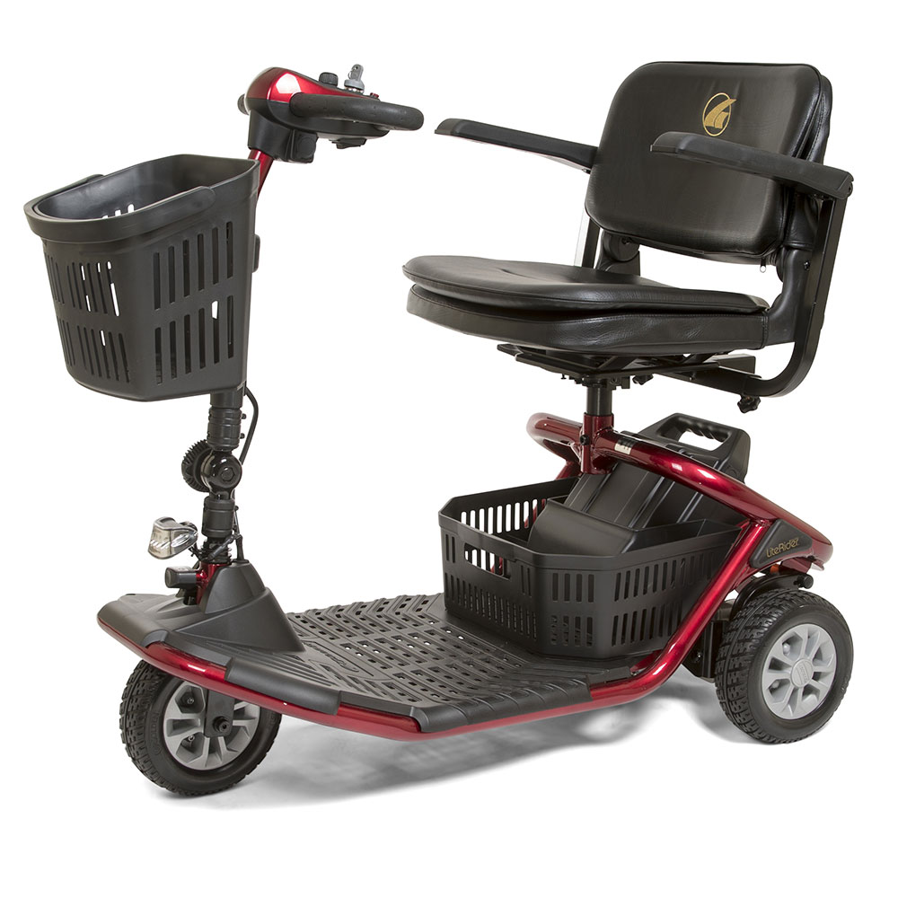 swivel chair disassembly kenny chesney blue rum hat literider 3-wheel scooter from golden - mccann's medical