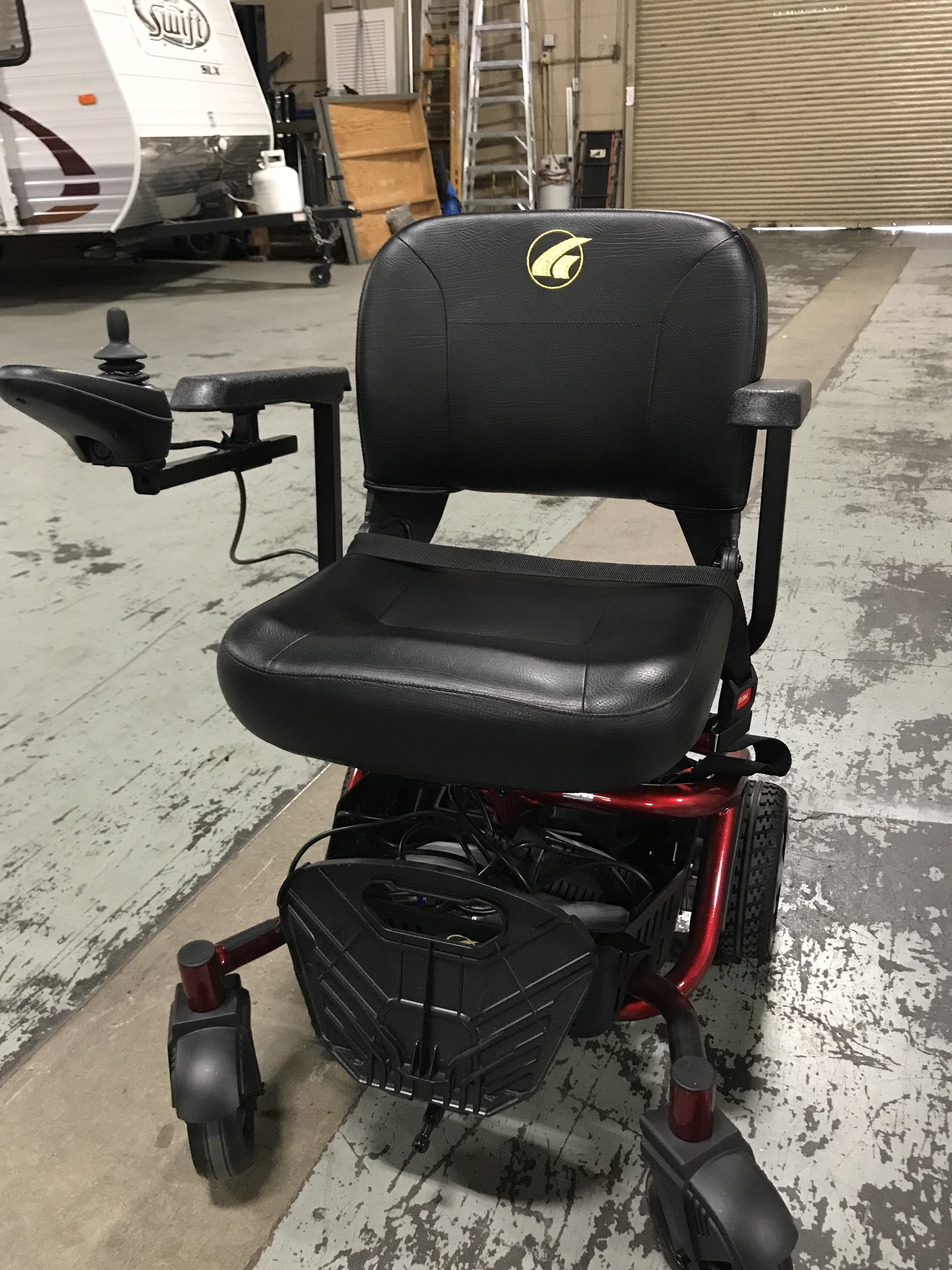 golden power chair patio table with swivel chairs literider envy mccann s medical