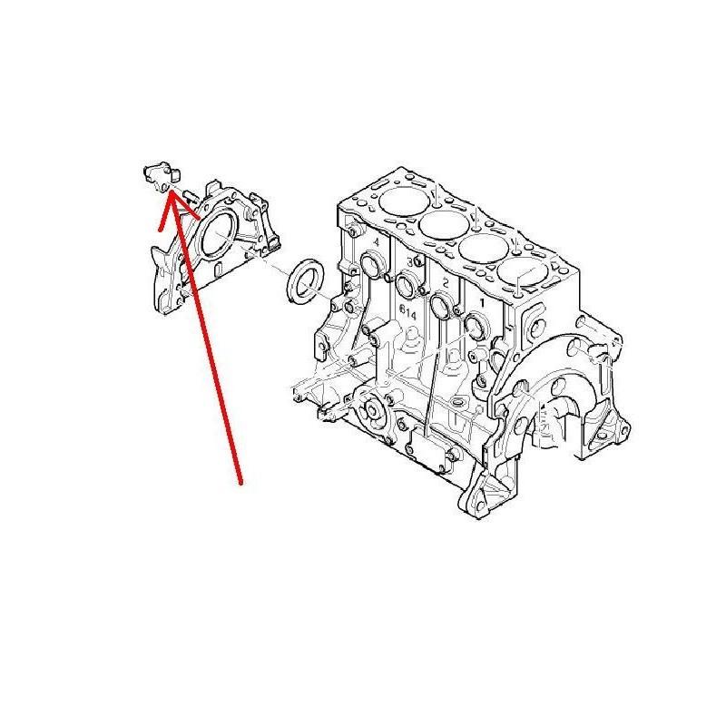 Czujnik położenia wału korbowego 2.0 TDCi Febi 31200