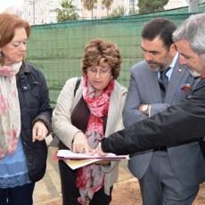 López reafirma la voluntad del Gobierno municipal de revalorizar la Muralla de Tierra