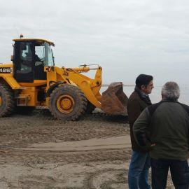 Infraestructuras refuerza los trabajos en el Mar Menor