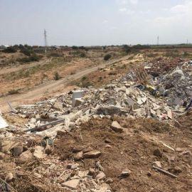 MC Cartagena denunciará el arrojo ilegal de escombros en la Rambla de Benipila a su paso por el Paraje de Los Segados