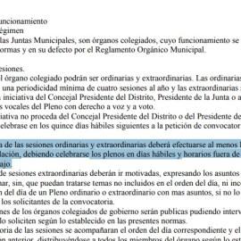 MC impugnará el horario fijado en la moción de censura contra el presidente de la Junta Vecinal de Molinos Marfagones por infringir  la normativa