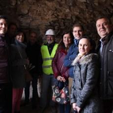 MC Cartagena celebra que su trabajo desde el Gobierno permita conocer las nuevas excavaciones del eje menor del Anfiteatro Romano