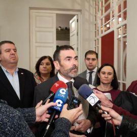 """López reclama a la alcaldesa que olvide los titulares y se centre en que el AVE llegue """"en condiciones"""" a Cartagena"""