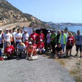MC reafirma su compromiso con el medio ambiente organizando dos jornadas de limpieza en los montes de Cartagena