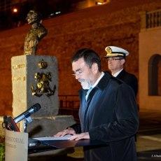MC Cartagena propone honrar la figura de Blas de Lezo con la colocación de una estatua en el puerto