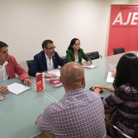 MC impulsará que se facilite la actividad de los emprendedores de Cartagena