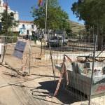 Castejón deja las obras sin acabar y sin financiación