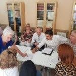 MC Cartagena informa a los vecinos de Molinos Marfagones sobre sus próximas iniciativas en materia de movilidad y accesibilidad