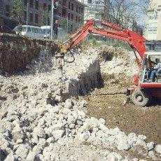 """Bienes Culturales reconoce que los gobiernos del PP consintieron el """"lamentable episodio del tramo demolido"""" de la muralla de Carlos III"""