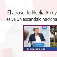 MC exige la dimisión de Noelia Arroyo por saltarse la cuarentena y abusar de medios comunitarios