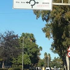 MC solicita la mejora en la señalética de la rotonda del Polígono Santa Ana