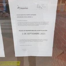 N. Arroyo retrasa la apertura de las piscinas y obliga a pagar una nueva matrícula a sus usuarios