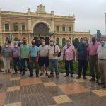 MC y vecinos reclaman el inicio de las obras de la Estación de Ferrocarril