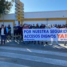 MC asiste al homenaje del trabajador de Navantia fallecido por atropello y exige al PP que actúe, de una vez, para garantizar la seguridad de los trabajadores