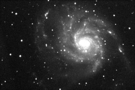 Galaxy M101 as captured by the Mobile Astronomical Observatory.