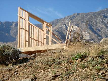 Framing Start - Palm Springs