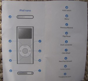 My IPod Nano Won't Turn Off!! | McClelland Miscellanea