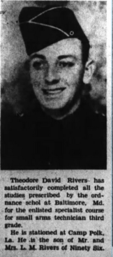 Theodore David Rivers
