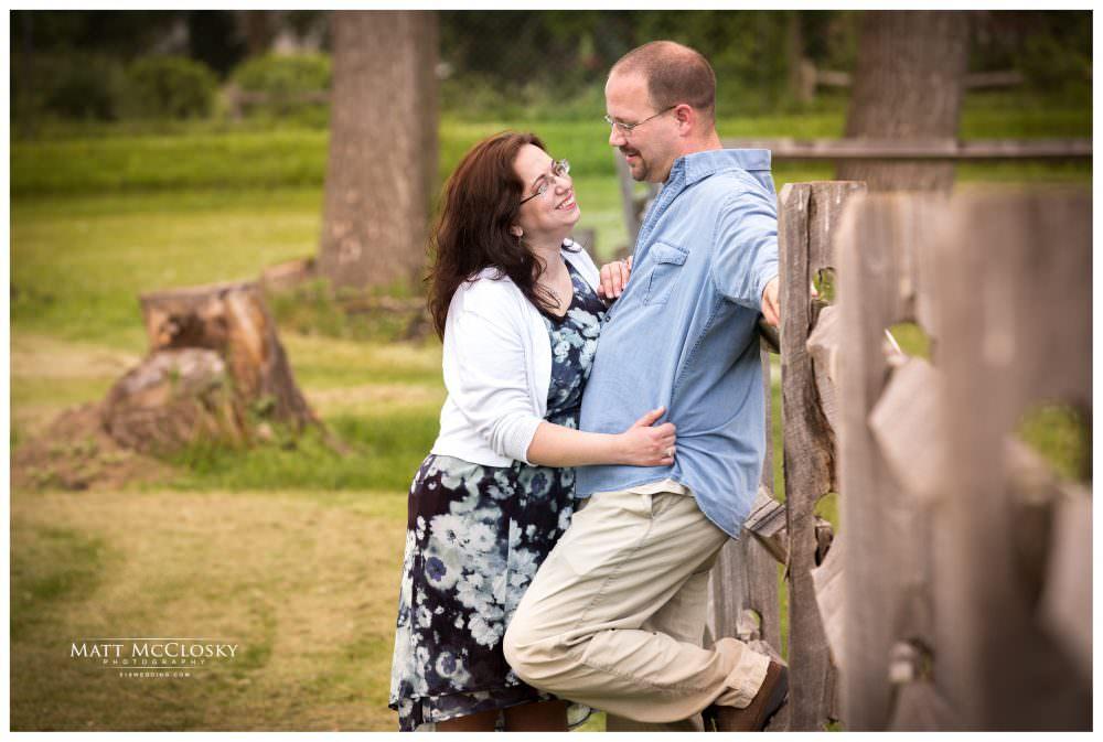 Maureen and Jason's Olde Tater Barn Engagement