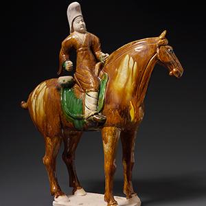 Equestrian Drummer, China, Tang dynasty, 618–907