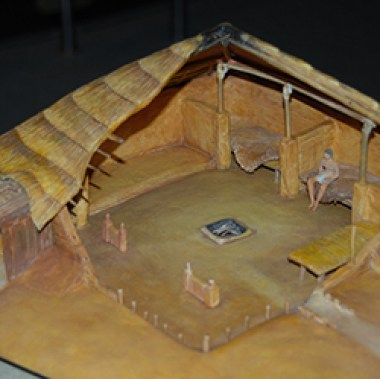 Toqua house model