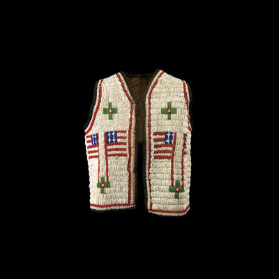 Lakota Boy's Vest, Height: 18 in.