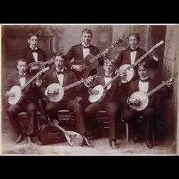 Fretted instrument ensemble. c. 1896, courtesy Jim Bollman.