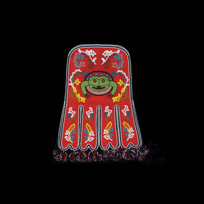 Tlingit Octopus Bag, Height: 24 in.