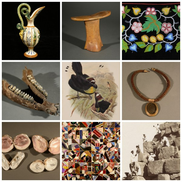 "Objects from the McClung Museum's permanent collections featured in ""Drawn from the McClung Museum"""