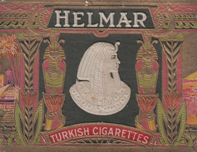 Helmar Turkish Cigarette Box, c. early 1900s, S. Anargyros Famous Cigarettes, New York, NY, Bequest of Judge John Webb and Ellen McClung Green, 1957.3.398.6.