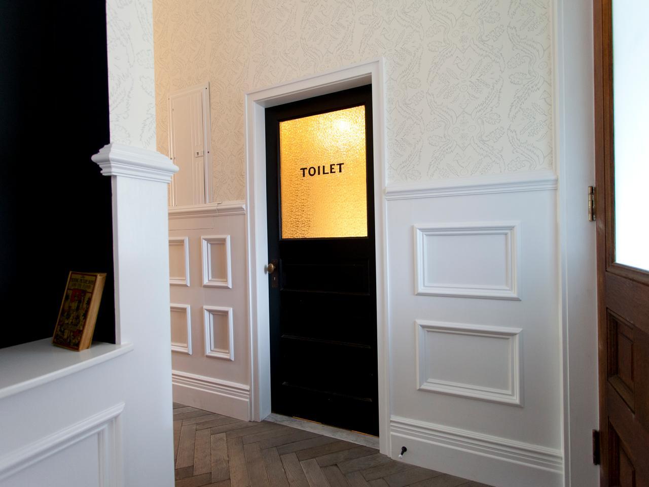 Current Obsession Bathroom Door