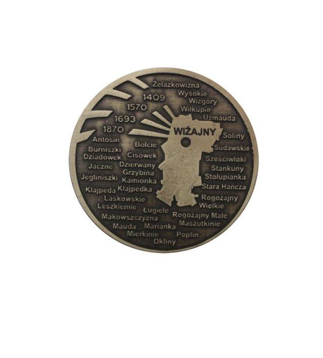 Gmina Wiżajny - medal 2D