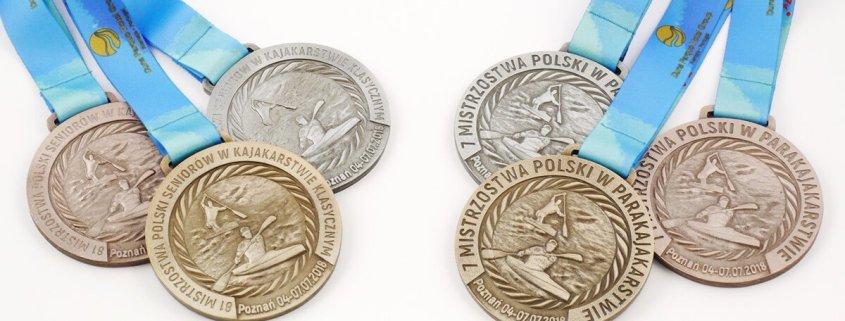 Medale na Mistrzostwa Polski dla Polskiego Związku Kajakowego