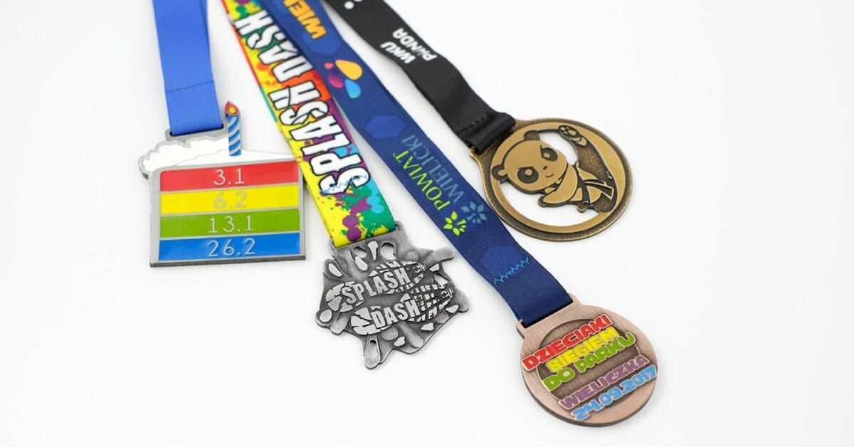 Medale dla dzieci na zamówienie wyprodukowane przez producenta - firmę MCC Medale