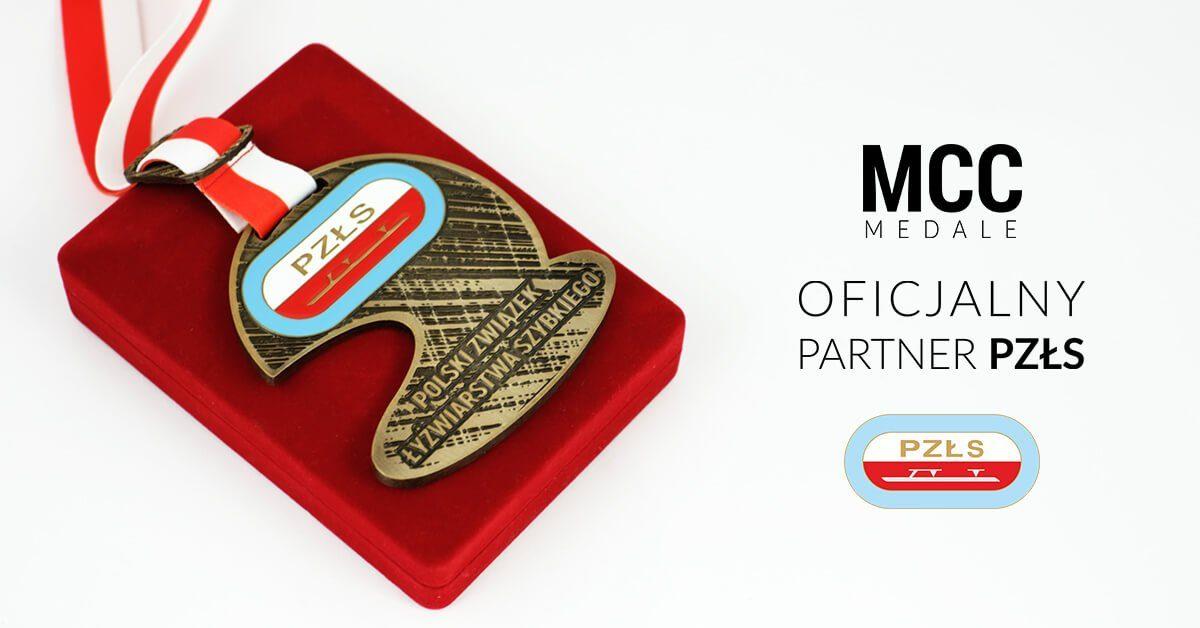 MCC Medale oficjalnym partnerem Polskiego Związku Łyżwiarstwa Szybkiego