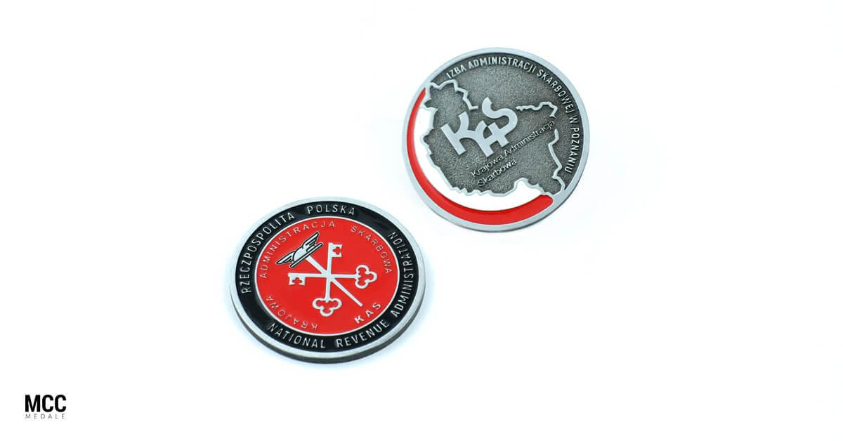 Monety okolicznościowe dla firm od MCC Medale