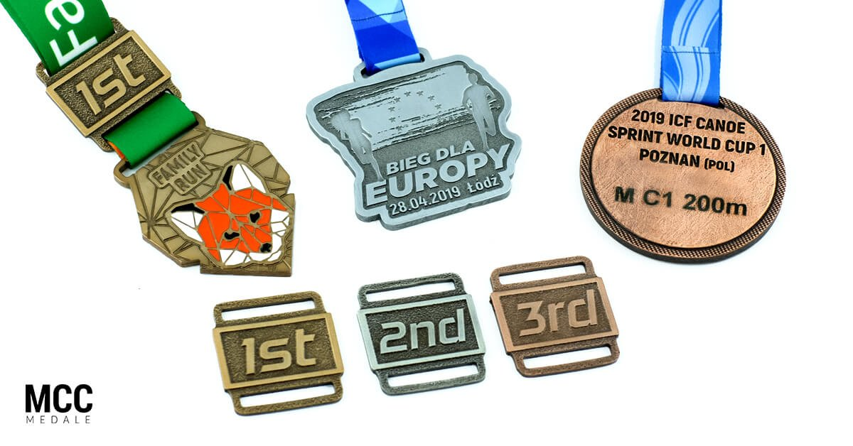 Medale na podium - sposób na nagrody dla najlepszych