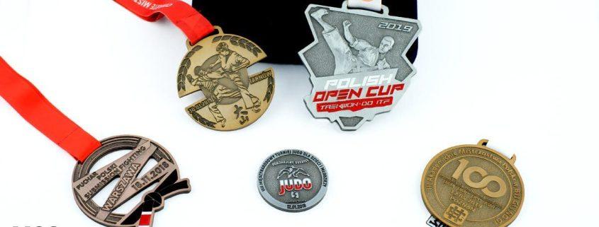 Sporty walki - medale na gale sportów walki przygotowane przez MCC Medale