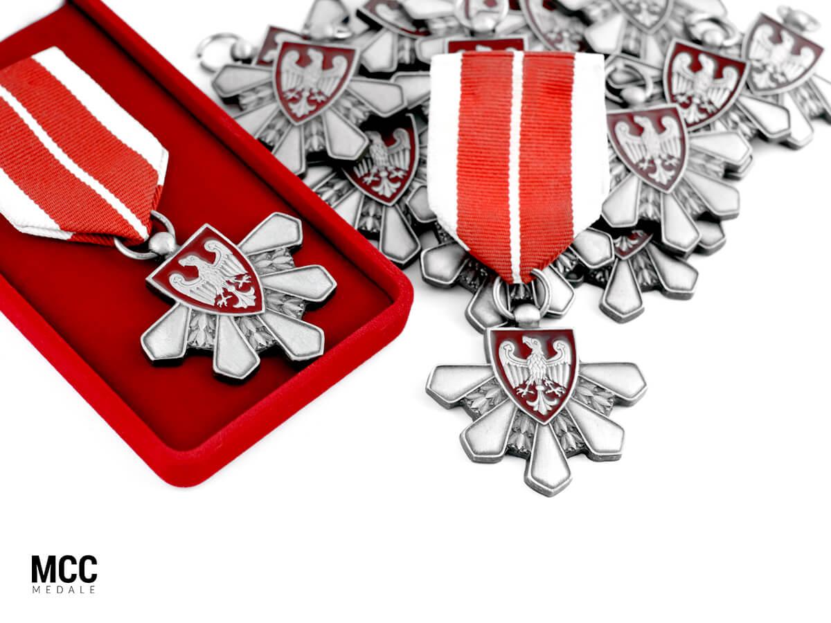 Ordery okolicznościowe wykonane przez MCC Medale